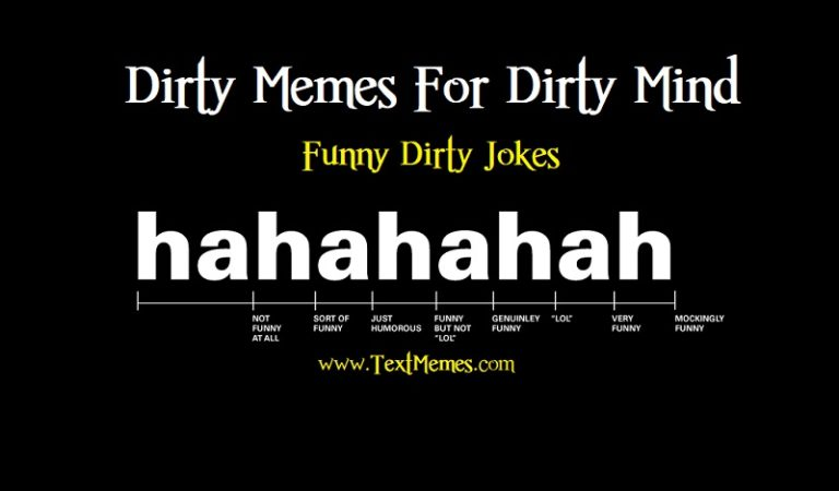 Dirty Memes: Funny Dirty Jokes Making Your Mind Dirty