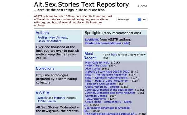 Alt. Sex. Stories Text Repository